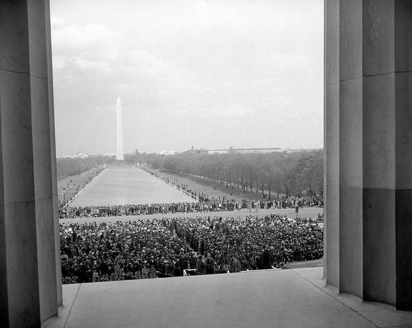 Wall Art - Photograph - Marian Anderson Lincoln Memorial Concert - 1939 by War Is Hell Store