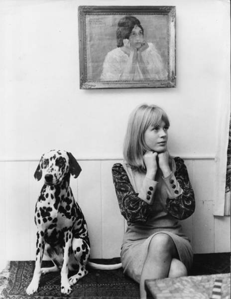 Photograph - Marianne Faithfull by John Pratt