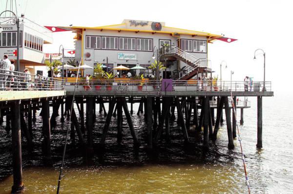 Photograph - Mariasol Restaurant Santa Monica Pier by Doc Braham