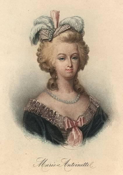18th Century Digital Art - Marie Antoinette by Hulton Archive