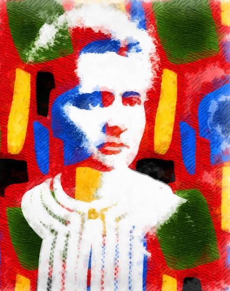 Wall Art - Painting - Marie Curie by Dan Sproul