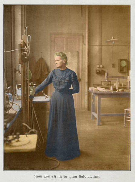 Photograph - Marie Curie, Polish-french Physicist by Science Source
