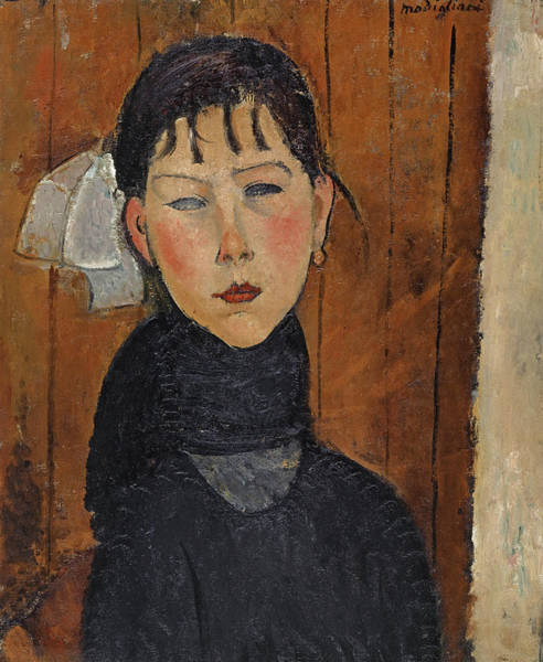 Wall Art - Painting - Marie, Daughter Of The People by Amedeo Modigliani