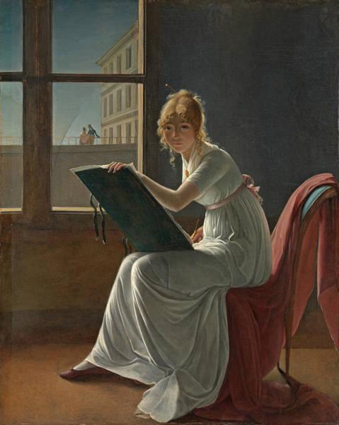 Painting - Marie Josephine Charlotte Du Val D'ognes by Marie Denise Villers