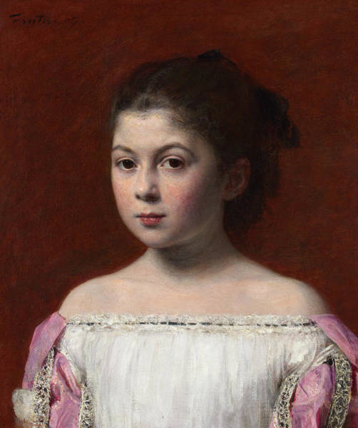 Wall Art - Painting - Marie-yolande De Fitz-james, 1867 by Henri Fantin-Latour