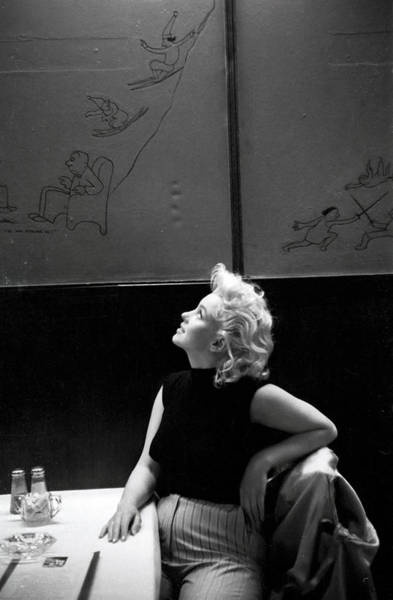 Photograph - Marilyn Candid Moment by Michael Ochs Archives