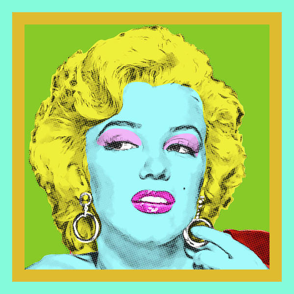 Digital Art - Marilyn by Gary Grayson
