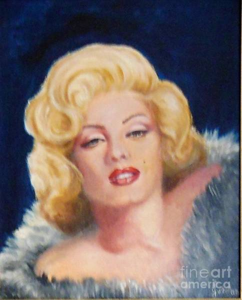 Painting - Marilyn by Jordana Sands