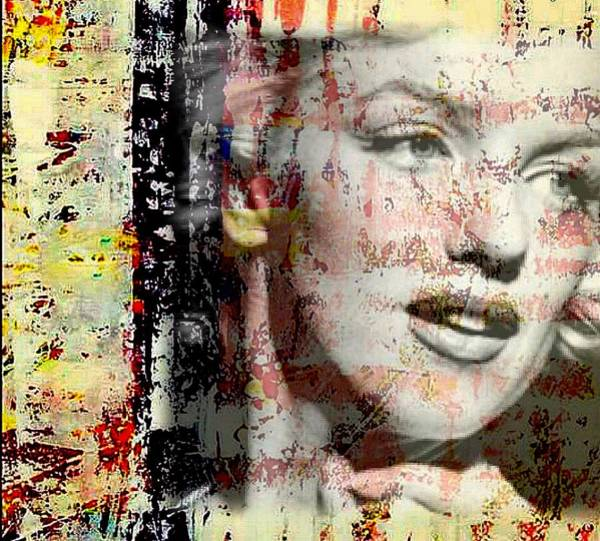 Mixed Media - Marilyn Monroe 2 by Jayime Jean