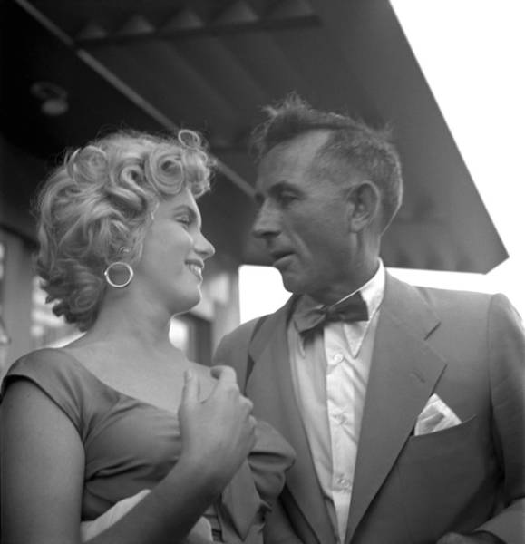 Released Photograph - Marilyn Monroe And Earl Theisen by Earl Theisen Collection