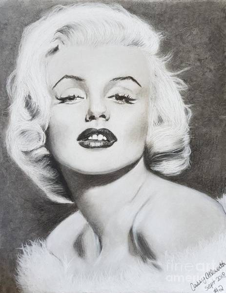 Drawing - Marilyn Monroe  by Cassy Allsworth