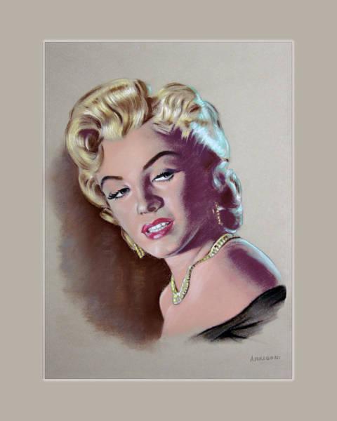 Painting - Marilyn Monroe by Eduardo Angelo Arrigoni