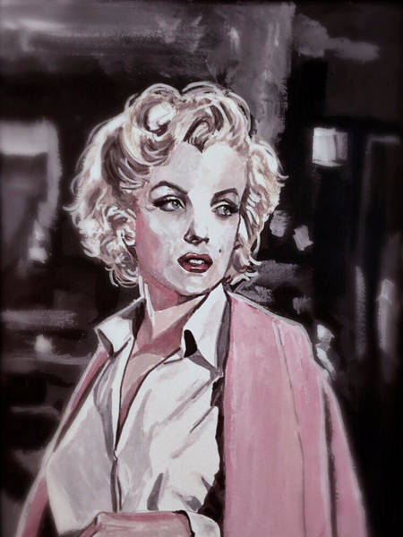 Painting - Marilyn Monroe by Joel Tesch