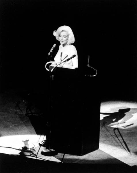 Us President Photograph - Marilyn Monroe by Yale Joel