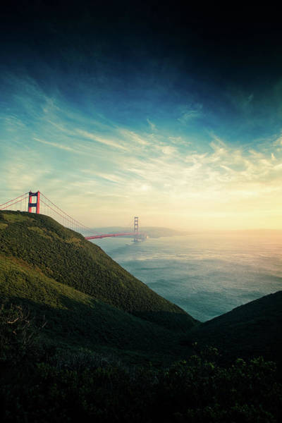 Marin Headlands Photograph - Marin Headlands And The Golden Gate by Hal Bergman Photography