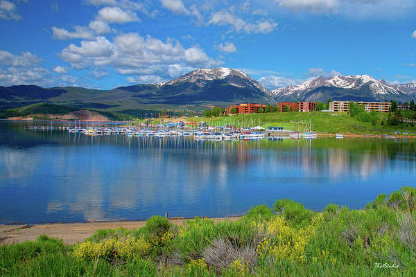 Photograph - Marina At Lake Dillon by Tim Kathka