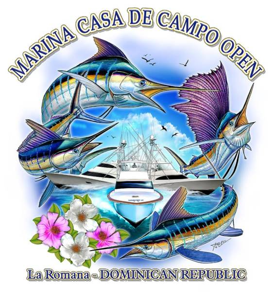 Digital Art - Marina Casa De Campo Open Art by Terry Fox