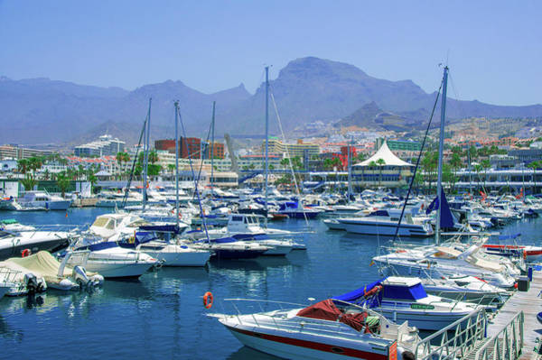 Photograph - Marina Of Costa Adeje by Sun Travels