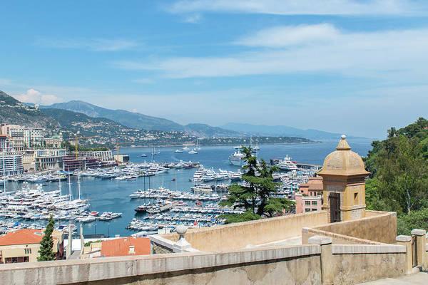 Condos Photograph - Marina, Port Hercule, Monaco, Cote by Jim Engelbrecht