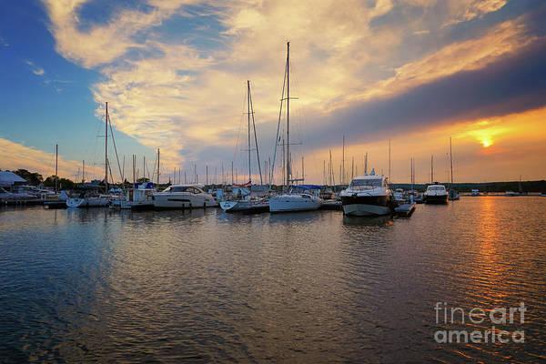 Photograph - Marina Summer Sunset by Rachel Cohen