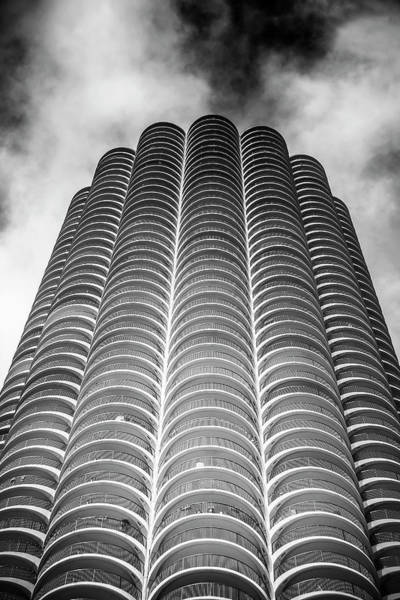Wall Art - Photograph - Marina Tower by Andrew Soundarajan