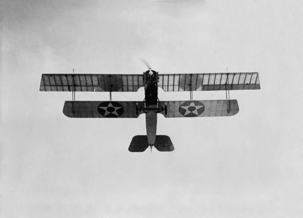 Wall Art - Photograph - Marine Biplane Performing A Loop - Ww1 - 1918 by War Is Hell Store