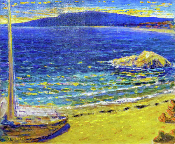 Wall Art - Painting - Marine - Digital Remastered Edition by Pierre Bonnard