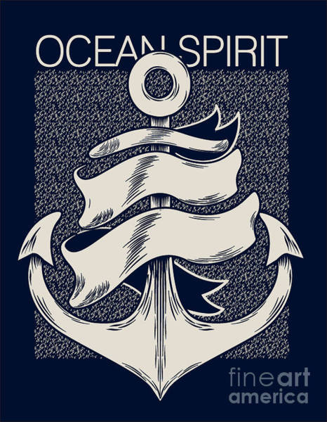 Wall Art - Digital Art - Marine Graphics  For T-shirt by Braingraph