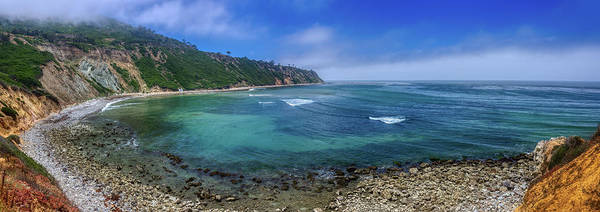 Photograph - Marine Layer Over Bluff Cove Panorama by Andy Konieczny