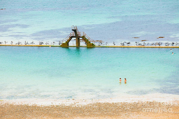 Wall Art - Photograph - Marine Swimming Pool From Sain-malo by Jose Ignacio Soto