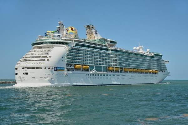 Photograph - Mariner Of The Seas Heads To Sea by Bradford Martin