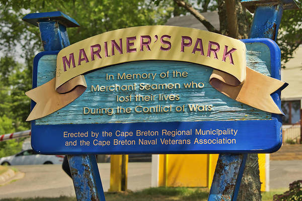 Photograph - Mariners Park by Meta Gatschenberger