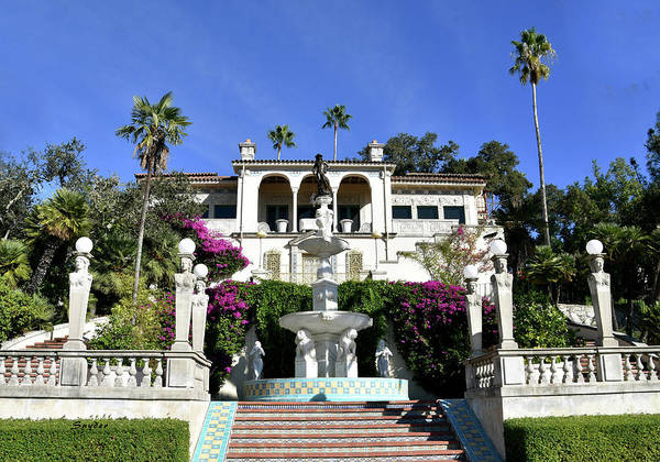 Photograph - Marion Davies Guest House At Hearst Castle by Floyd Snyder