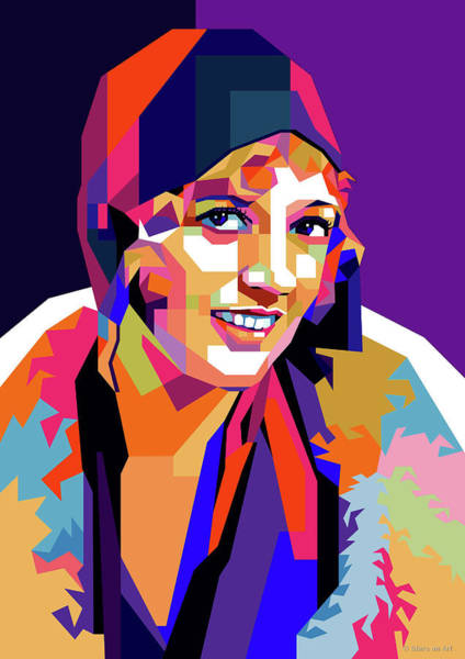 Wall Art - Digital Art - Marion Davies by Stars on Art
