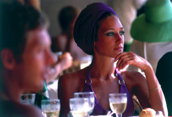 Film Industry Photograph - Marisa Berenson by Slim Aarons