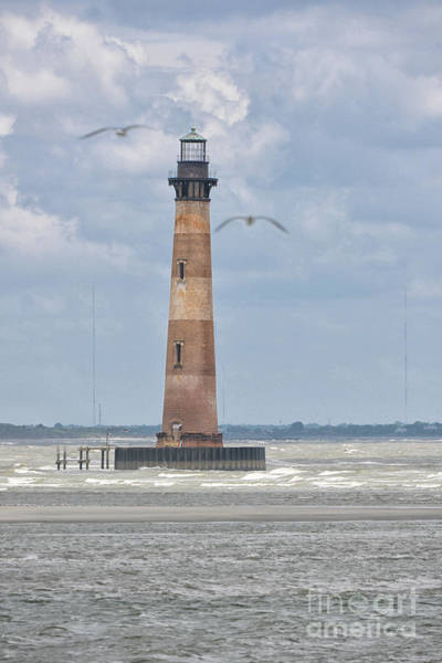 Photograph - Maritime Lighthouse Symbol by Dale Powell