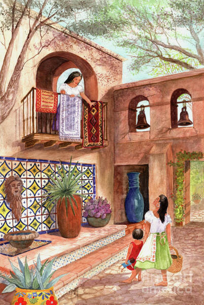 Painting - Market Day El Mercado by Marilyn Smith