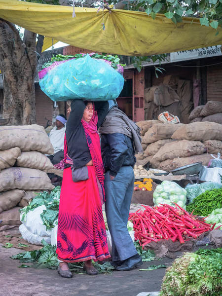 Photograph - Market Day by Robin Zygelman