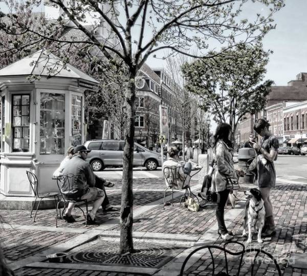 Wall Art - Photograph - Market Square by Marcia Lee Jones
