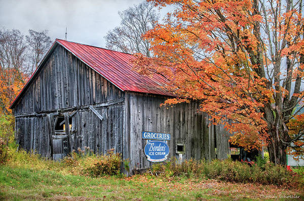 Photograph - Marlboro Country - Vermont Barn Art by T-S Fine Art Landscape Photography