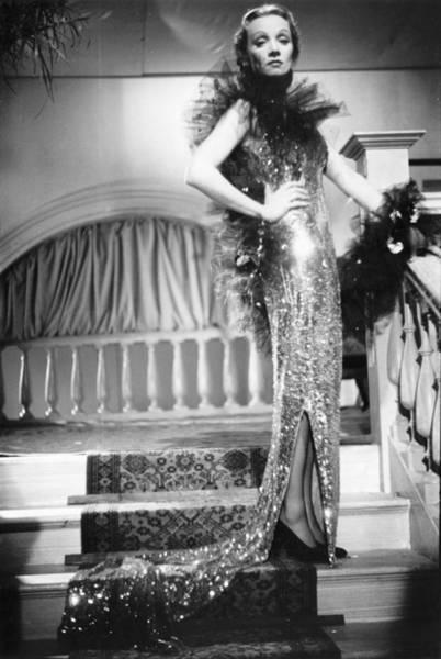Photograph - Marlene Dietrich by Baron