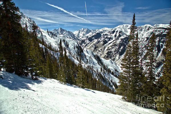 Photograph - Maroon Bells View From The Slopes by Adam Jewell