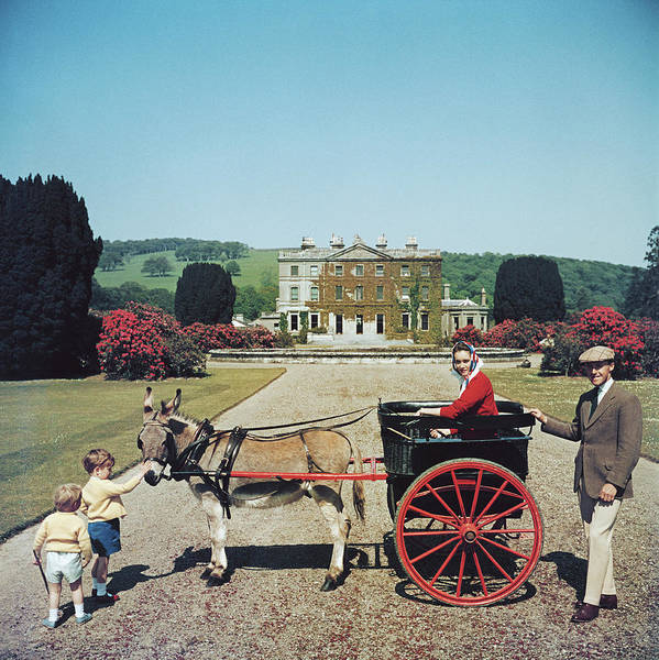 Wealth Photograph - Marquess Of Waterford by Slim Aarons