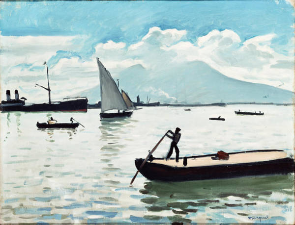 Wall Art - Painting - Marquet, Albert - The Bay Of Naples by Hermitage Museum