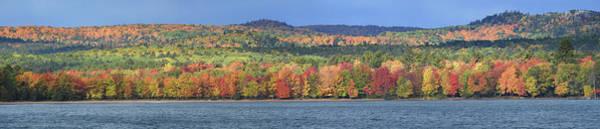 Photograph - Marquette Autumn Panorama 10121801 by Rick Veldman