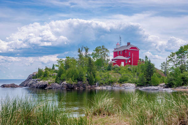Photograph - Marquette Harbor Lighthouse by Gary McCormick