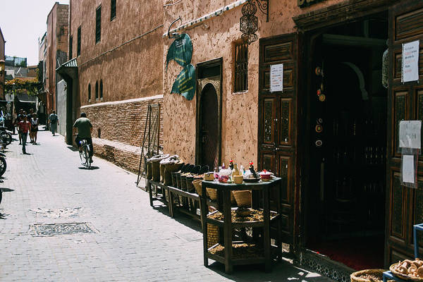 Wall Art - Photograph - Marrakesh Souk by Pati Photography