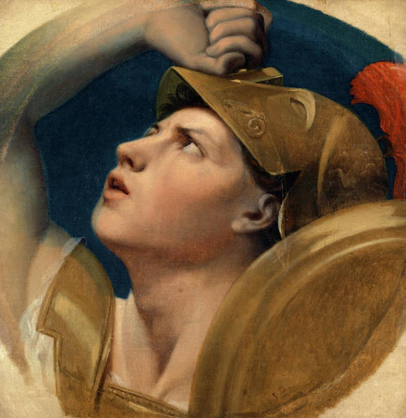 Wall Art - Painting - Mars, 1864 by Jean-Auguste-Dominique Ingres
