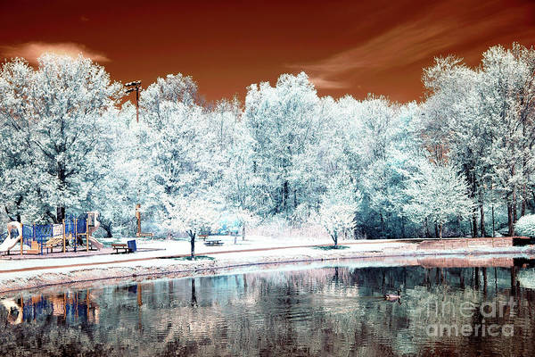 Photograph - Mars At South River Infrared by John Rizzuto