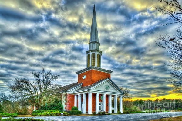 Photograph - Mars Hill Baptist Church Watkinsville Georgia Church Art by Reid Callaway